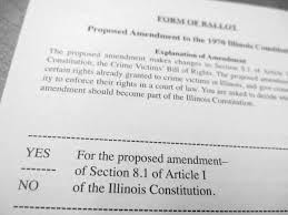 Pros & Cons of IL Victims Rights Proposal