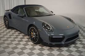 2017 Used Porsche 911 Turbo S Cabriolet at Kip Sheward Motorsports