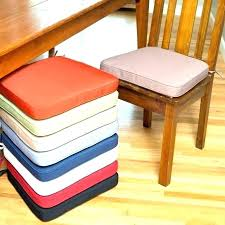 Dining Chair Seat Pads With Ties Replacing Cushions Replacement Room