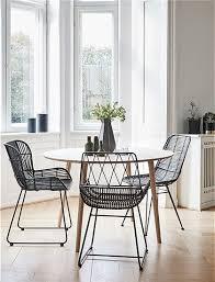 stuhl rattan schwarz hãœbsch interior stuhl design