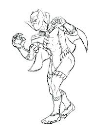 Black Panther Coloring Page Pink Pages Lego Colouring Civil