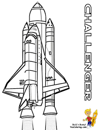 Download Coloring Pages Space Spectacular Shuttle Free Nasa