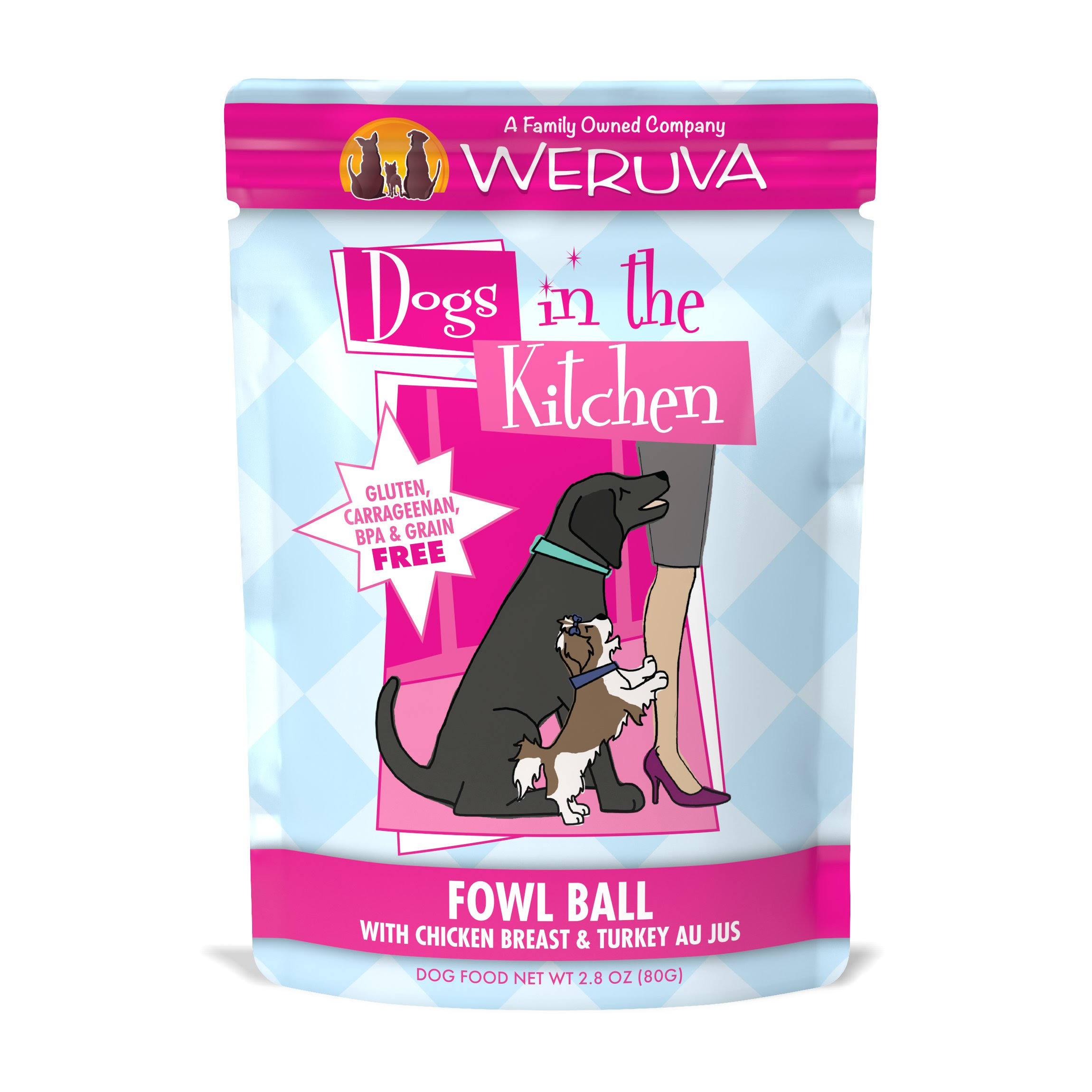 Weruva Dogs in the Kitchen Dog Food - Fowl Ball