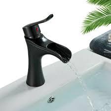 schwarz wasserhahn waschbecken armatur waschtischarmatur einhandmischer bad hoch