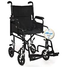 Transport Chair Or Wheelchair by Karman T 2700 Transport Chair W Detachable Arms