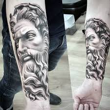 Wrist Tattoo Zeus God Greek For Guys
