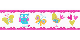 Wallpaper Border Kids Animal Colourful Self Adhesive 8954 17