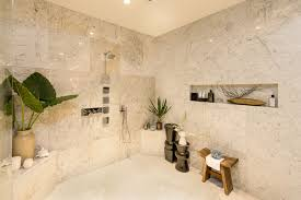how to make shower niches work for you in the bathroom