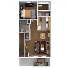 100 Small One Bedroom Apartments Extraordinary 1 Apartment Floor Plans Pdf Images