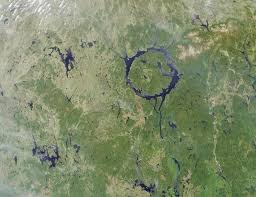 Asteroid Impact Craters On Earth As Seen From Space