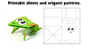 Easy Origami For Kids Paper Folding Crafts Children