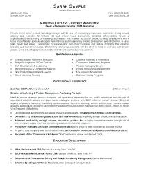 Marketing Manager Resume Samples Sample Resumes Format Example