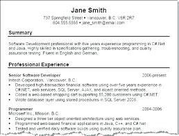 Example Customer Service Resumes Resume Professional Summary Simple Template Pdf For Examples