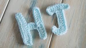 crochet How To Crochet Letters H J Crochet Extras