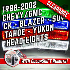 100 88 Chevy Truck 192002 Chevrolet GMC CK Blazer SUV Headlights ORACLE