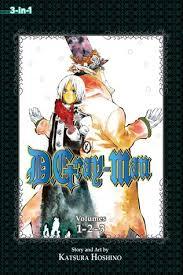DGray Man 3 In 1 Edition Vol Includes Vols 2 By