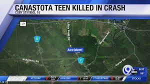 Canastota Teen Killed After Truck Crashes Into Tree