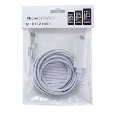 Iphone To Tv Adapter IPhone IPad To HDMI Adapter Lightning 8 pin