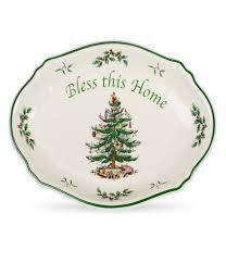 Spode Christmas Tree Cookie Jar by Holiday U0026 Christmas Serveware Dillards