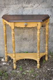 Vintage End Table With Lamp Attached by Best 25 Side Table Redo Ideas On Pinterest Restoration Vanity