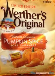 Pumpkin Spice Pringles 2017 by Grocery Reviews Spotted Shelves Limited Edition Werthers Original