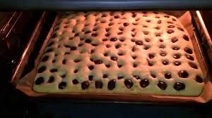 kirsch blech kuchen rezept all in kuchen