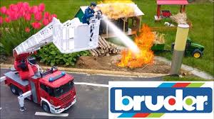 BRUDER Toys FIRE Action With Firetruck - YouTube Jual Produk Bruder Terbaik Terbaru Lazadacoid Harga Toys 2532 Mercedes Benz Sprinter Fire Engine With Mack Deluxe Toy Truck 1910133829 Man 02771 Jadrem Engine Scania Ab Car Prtrange Fire Truck 1000 Bruder Fire Truck Mack Youtube With Water Pump Cullens Babyland Pyland Mb W Slewing Ladder In The Rain