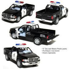 100 Dodge Ram Pickup Truck 5 Kinsmart 1500 POLICE Diecast Model Toy 1