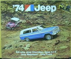 1974 Jeep Cherokee CJ-5 Wagoneer Truck Dealer Sales Brochure 10 Interesting Facts From The History Of Jeep Cherokee All 2016 Vehicles For Sale 2019 Wrangler Pickup News Photos Price Release Date What Versus Gilton Garbage Truck In Morning Accident On So I Want To Truck My Xj Forum Is A Trucklike Crossover With Benefits Offroad Axle Assembly Front 4x4 1993 Jeep Grand United For 100 Is This Custom 1994 A Good Sport Used Leo Johns Car Sales Jeep Cherokee Tracks Ultimate Ice Pinterest Hdware Egr Winglets