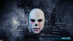 Payday 2 Halloween Masks Hack by Post Your Signature Mask Paydaytheheist