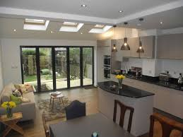 Kitchen Extension With Folding Doors To The Garden