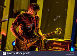 Smashing Pumpkins 2015 Tour Band Members by Clarkston Michigan Usa 5th Aug 2015 Jeff Schroeder Of The
