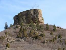 File Castle Rock butte in Castle Rock Colorado JPG Wikimedia mons