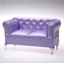 Ebay Sofas And Stuff by Details About Dollhouse High Ranked Royal Purple Sofa For
