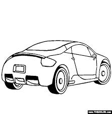 Mitsubishi Eclipse Coloring Page
