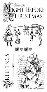Twas The Night Before Halloween Book by Graphic 45 U0027twas The Night Before Christmas Collection Cling