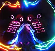 led shoelace light up flash glowing shoelaces shoe laces