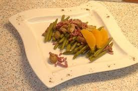 recette de salade de haricots verts aux marrons la recette facile