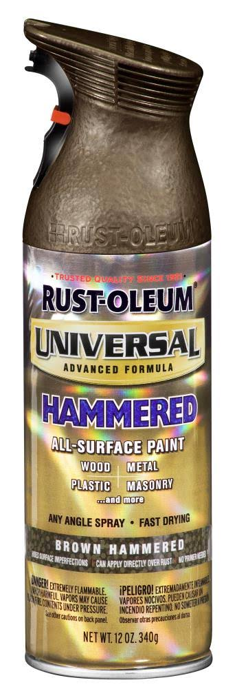 Rust-Oleum Universal All Surface Spray Paint - 12oz, Hammered Brown