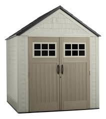 rubbermaid x large 7 x 7 gable shed at menards