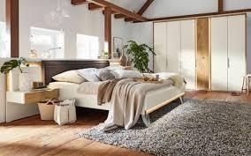musterring schlafzimmer saphira in weiß balkeneiche