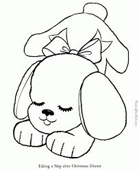 Free Images Coloring Puppy Pages For Kids About