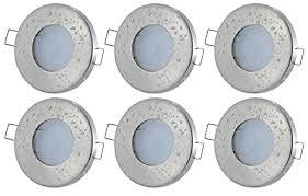 sets 12volt badezimmer led decken einbauleuchten aqua ip65