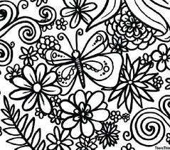 Spring Color Pages Free Coloring Pictures For Kindergarten