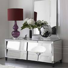 Mirrored Dresser Interior Bedroom Design