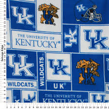 Amazon.com: College University Of Kentucky Wildcats 012 Print Fleece ... Fabric For Boys At Fabriccom Firehouse Friends Engine No 9 Cream From Fabricdotcom Designed By Amazoncom Despicable Me Minion Anti Pill Premium Fleece 60 Crafty Cuts 15 Yards Princess Blossom We Cannot Forget Our Monster Truck Fabric Showing The F150 As It Windham Designer Fabrics Creativity Kids Deluxe Easy Weave Blanket Ford Mustang Fleece Fabric Blanket