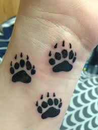Bear Wolf Tattoo Photo
