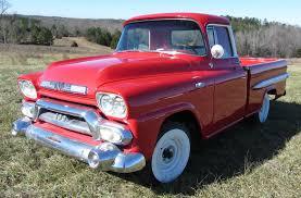 100 Carolina Classic Trucks 1958 GMC Fleetside Pickup Wideside Chevrolet Custom Deluxe