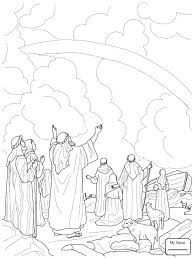 Animals Loading Noah S Ark Christianity Bible Coloring Pages For Kids