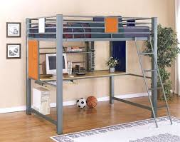 desk how to build a loft bed with desk underneath with huge